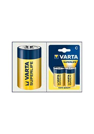 Baterie r14 Varta Superlife