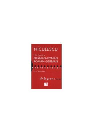 Dictionar german-roman, roman-german de buzunar