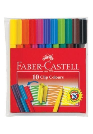 Carioca 10 culori Faber Castell