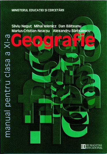 Manual geografie clasa a XI-a