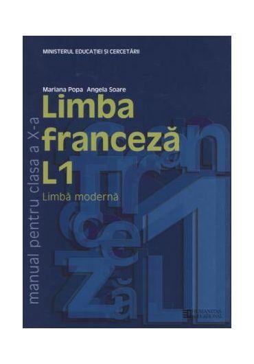 MANUAL LIMBA FRANCEZA L1 CLASA A X-A