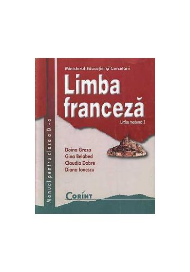 Manual limba franceza L2 clasa a IX-a