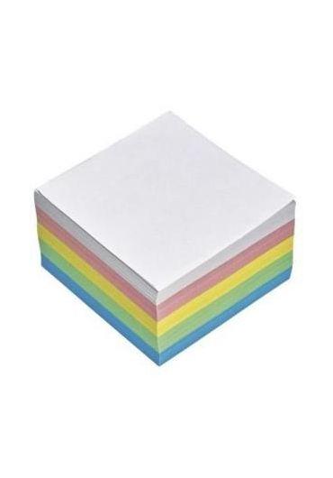 Cub hartie color 9x9cm 10 culori 300 coli