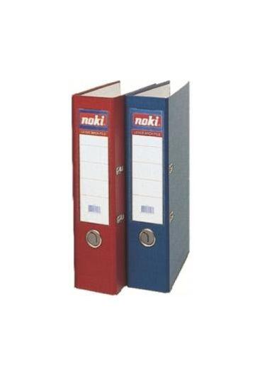 Biblioraft plastifiat 7.5cm Albastru