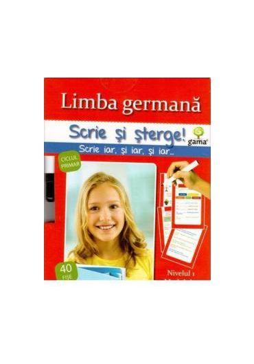 Limba germana nivelul 3 - Scrie si sterge