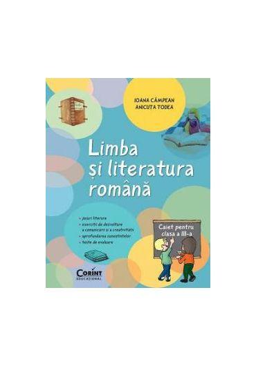 Caiet elev Limba si literatura romana clasa a III-a