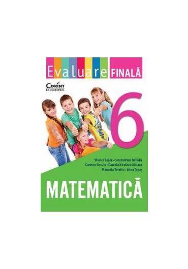 EVALUARE FINALA CLASA A VI-A MATEMATICA