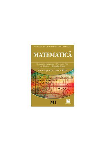 MANUAL DE MATEMATICA CLASA A XII-A