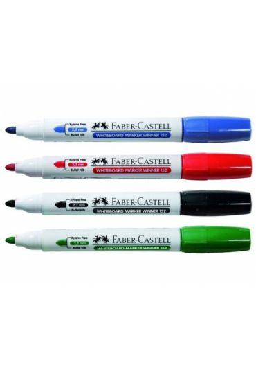 Marker whiteboard set 4 winner Faber Castell