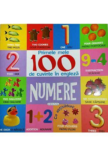 Primele mele 100 de cuvinte in limba engleza. Culori si forme