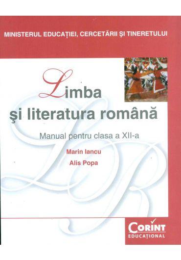 Manual limba si literatura romana clasa a XII-a