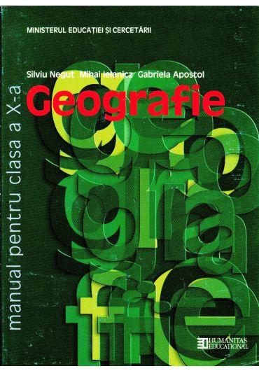 Manual geografie clasa a X-a