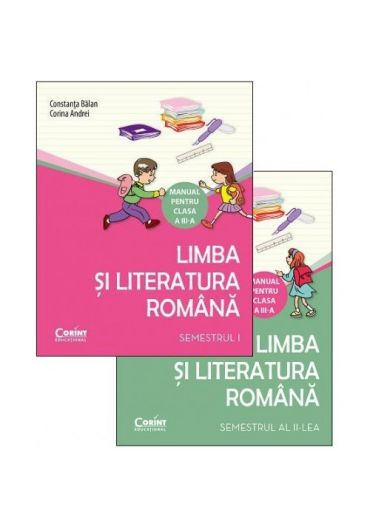 Manual limba si literatura Romana clasa a III-a, sem. I + II