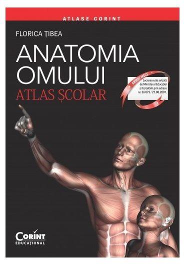 Atlas scolar. Anatomia omului