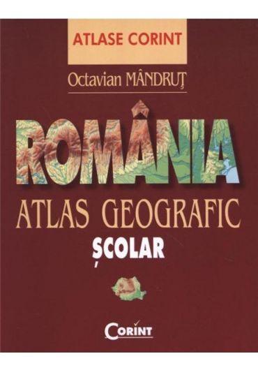 Atlas geografic scolar. Romania