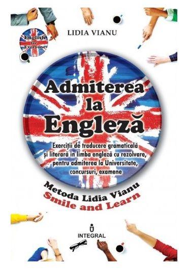 Admiterea la engleza
