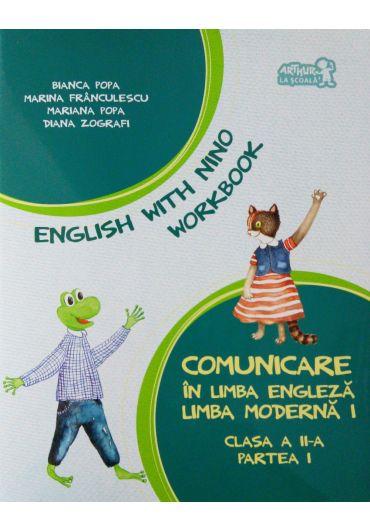 Caiet pentru limba engleza clasa a II-a semestrul I