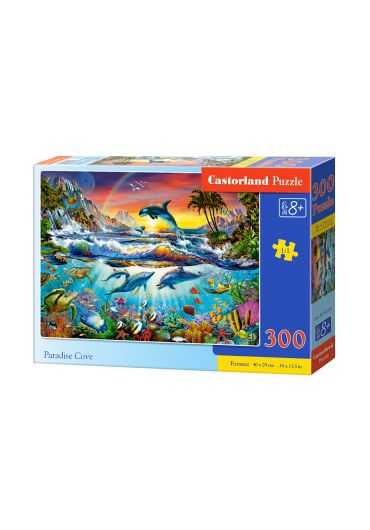 Puzzle 300 piese Paradise Cove