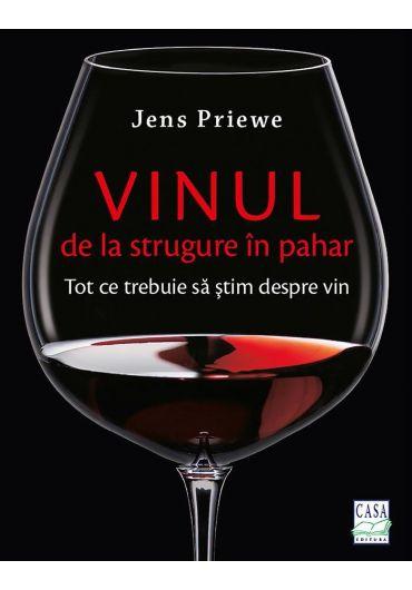 Vinul de la strugure in pahar