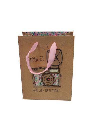 Punga cadou medie Smile! You are beautiful!