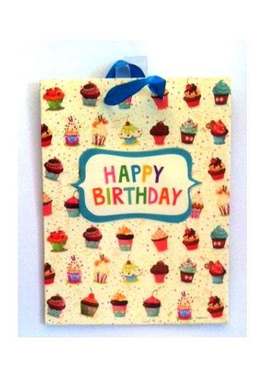 Punga cadou medie Happy birthday