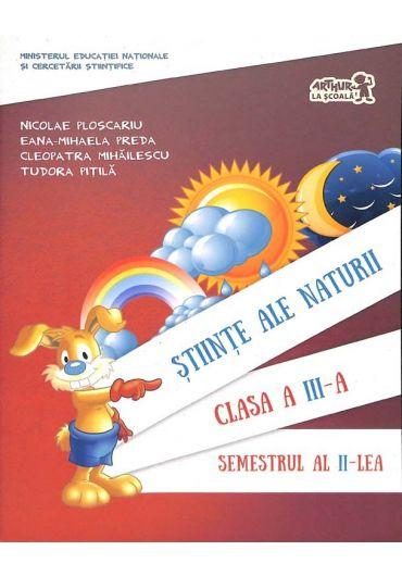 Manual stiinte ale naturii clasa a III-a semestrul II