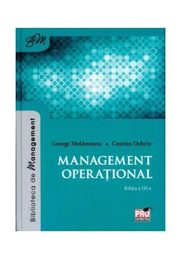 Management operational. Editia a III-a