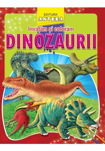 Invatam si coloram dinozaurii