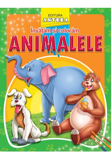 Invatam si coloram animale