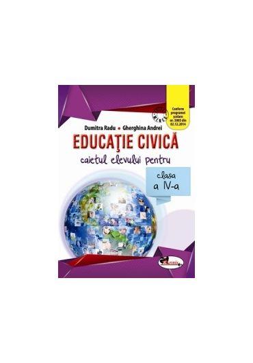 Caietul elevului Educatie civica clasa a IV-a