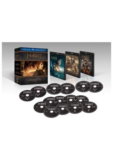 Hobbitul - Trilogia ed extinsa 3D