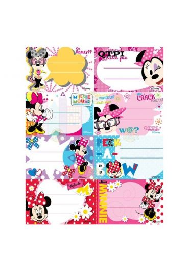 Etichete scolare 40/set Minnie