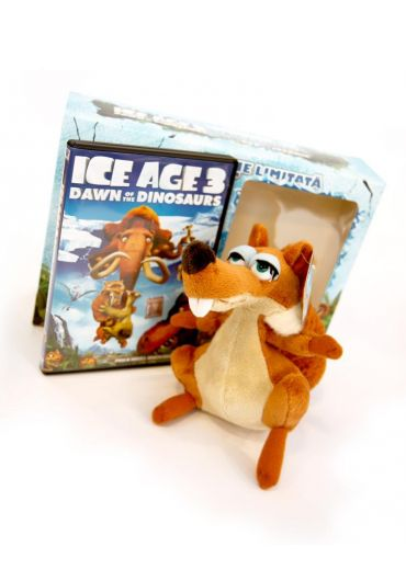 Ice Age 3: Dawn of the Dinosaurs (Pachet DVD + jucarie)