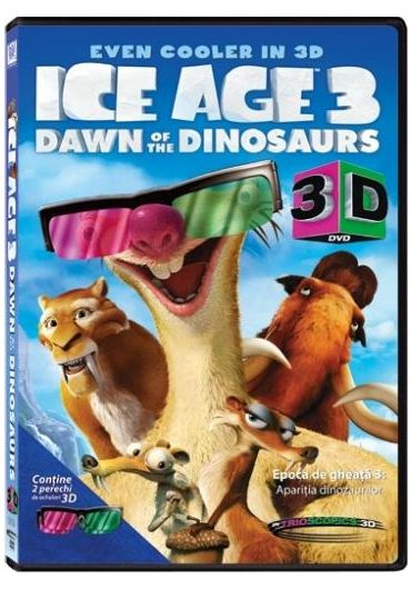 Ice Age 3: Dawn Of The Dinosaurs (3D) [DVD] [2009]