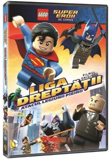 LEGO DC Super Heroes. Justice League - Attack of the Legion of Doom![DVD] [2015]