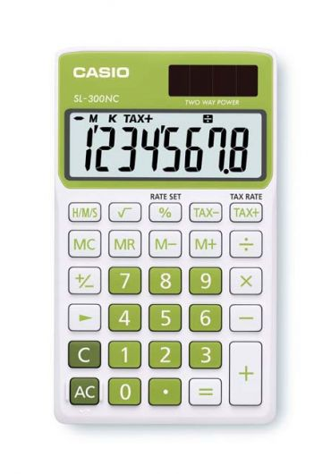 Calculator portabil 8 dg verde