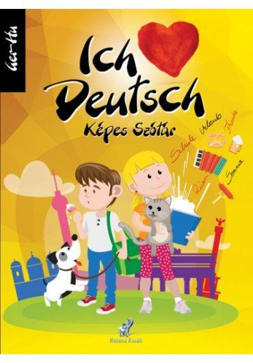 Dictionar ilustrat pentru copii Ich Deutsch germana-maghiara