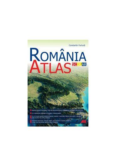 Atlas scolar Romania ed II