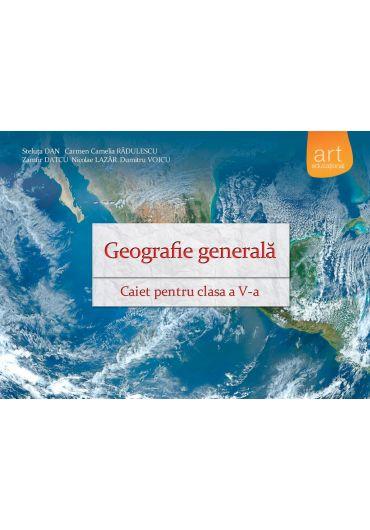 Caiet de geografie pentru clasa a V-a