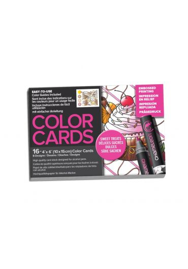 Set cartoane cu imagini pentru colorat Sweet Treats