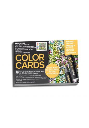 Set cartoane cu imagini pentru colorat Mirror Images
