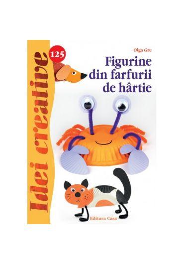 Figurine din farfurii de hartie - Idei creative 125