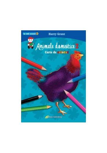Animale domestice 2. Carte de colorat A4