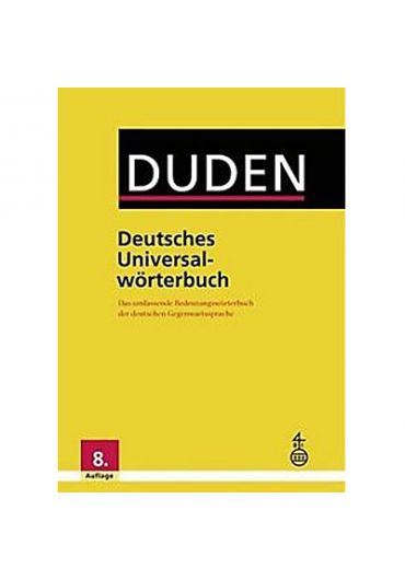 Duden - Deutsches Universalworterbuch