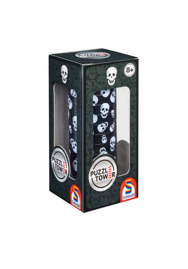Puzzle turn magnetic skull