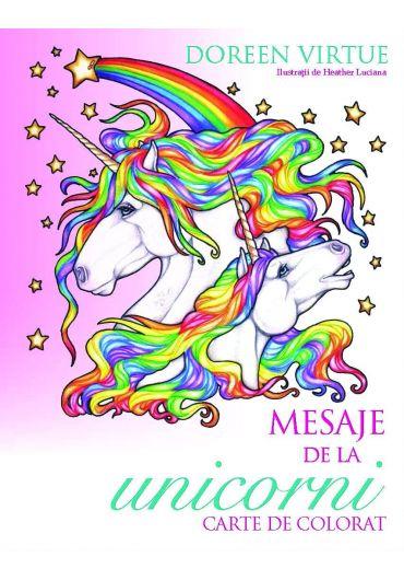 Mesaje de la unicorni. Carte de colorat