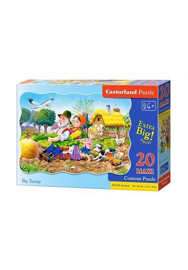 Puzzle 20 piese Maxi Big Turnip
