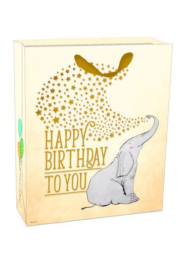 Punga mare pentru cadou - Elephant