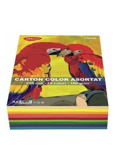 Carton color A4  240 gr 50 coli Daco