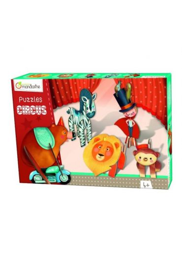 Puzzle 3D - Circus Boy